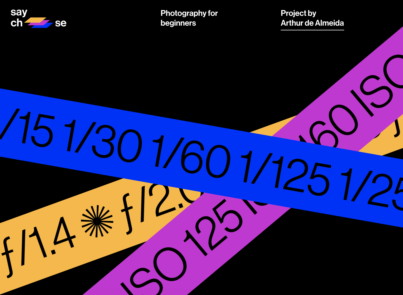 Arthur de Almeida photography for beginners website