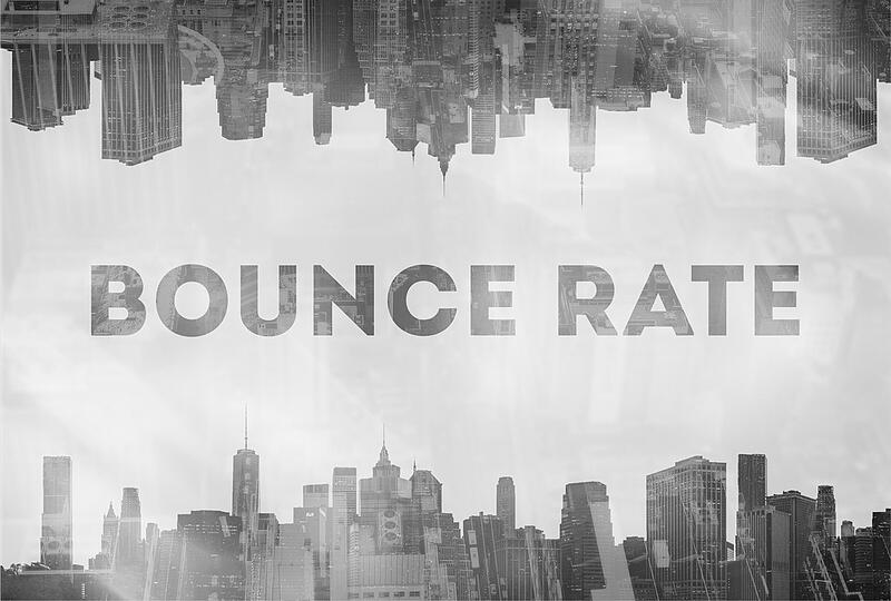 bounce rate displayed in city view