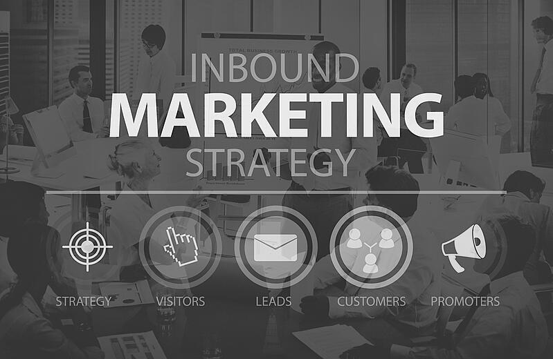 office meeting about inbound marketing strategy