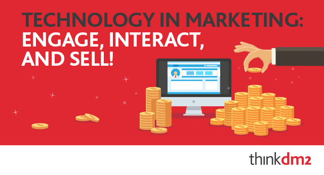 engage, interact, and sell
