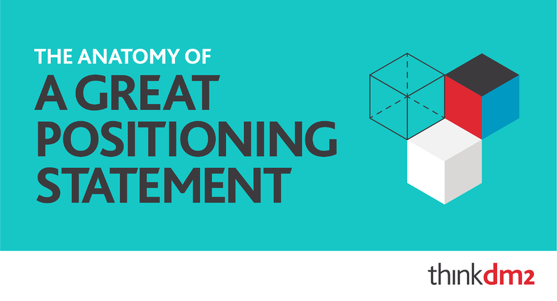the anatomy of a great positioning statement